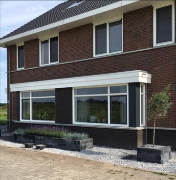 nieuwbouw Twente kunststof kozijnen Almelo
